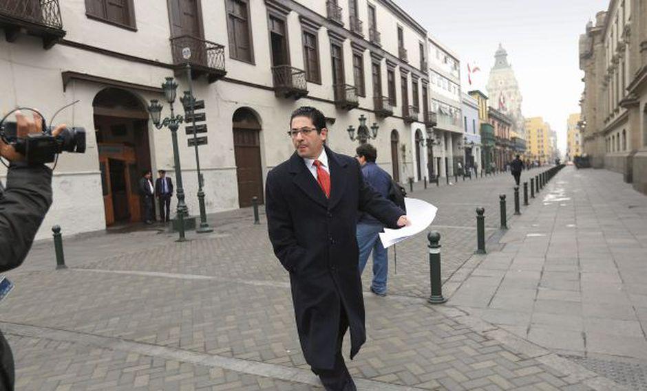 Salvador Heresi Chicoma es el tercero en dejar el Gabinete Villanueva. Antes salieron Daniel Córdova del Ministerio de la Producción y David Tuesta del Ministerio de Economía. (Foto: Anthony Niño de Guzmán)