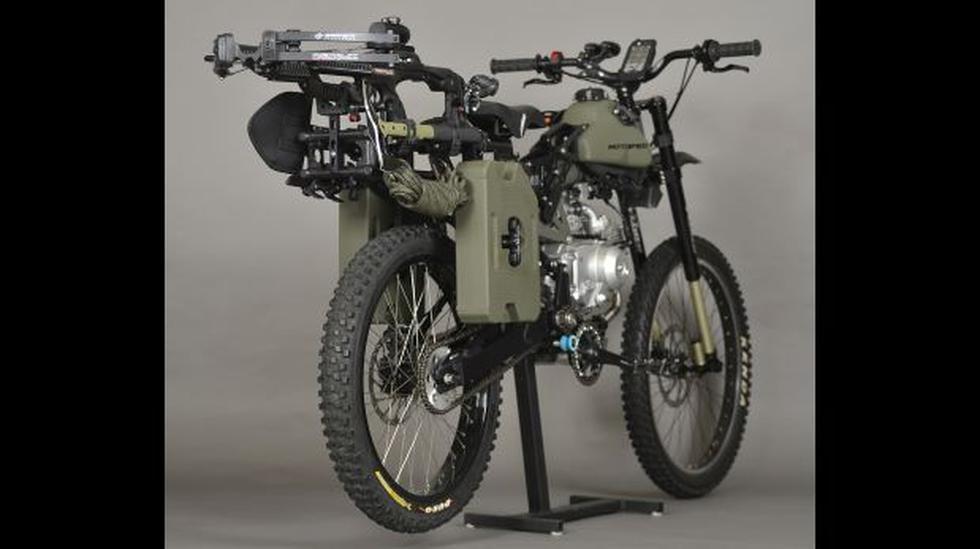 Esta bicicleta motorizada te salvaría de una invasión zombie - 2