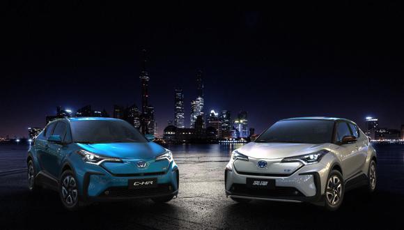 El nuevo Toyota CH-R eléctrico estará disponible, por el momento, en el mercado chino. (Fotos: Toyota).