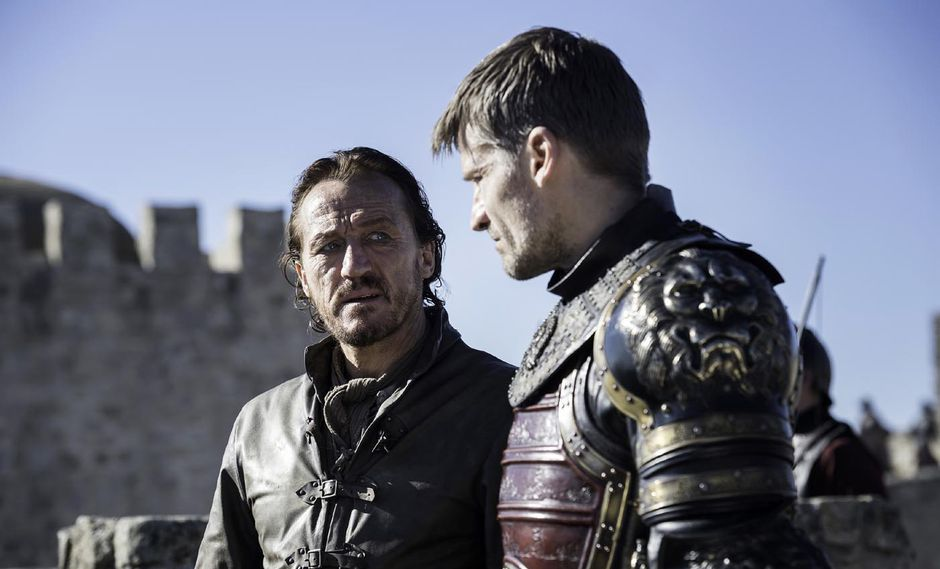 "Jerome Flynn (Bronn) y Nikolaj Coster-Waldau (Jaime) en ""Game of Thrones"". (Foto: HBO)"