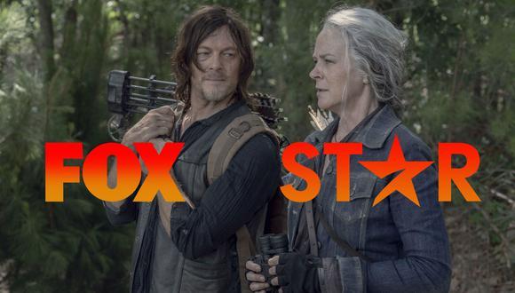 """Desde el 2021, """"The Walking Dead"""" dejará de emitirse  en canales Fox, los cuales cambian de nombre a Star. Foto: AMC."""