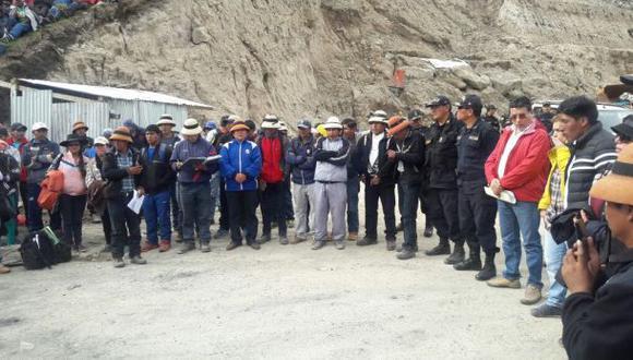 Las Bambas: deciden declarar estado de emergencia en Cotabambas