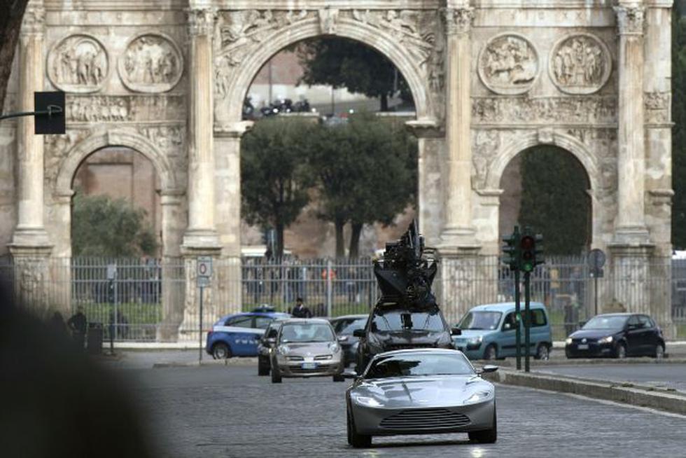 "James Bond: Roma da más de un problema a rodaje de ""Spectre"" - 2"