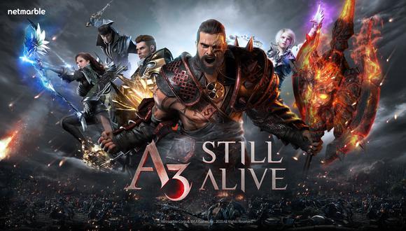 A3 Still Alive. (Difusión)