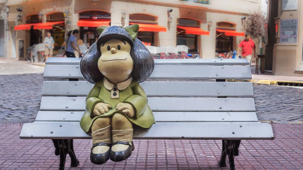 El dibujante Joaquín Salvador Lavado, Quino, ha fallecido a la edad 88 años. En esta galería recopilamos algunas de las mejores viñetas de Mafalda, su mundialmente querida creación. (Foto: Shutterstock)