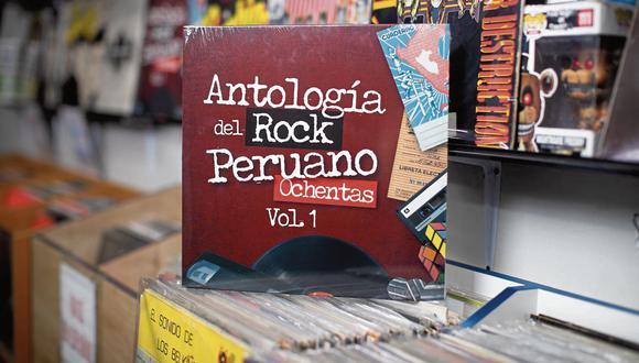 """""""Antología del Rock Peruano Ochentas (Vol. 1)""""  contiene temas clásicos como """"Cuando la cama me da vueltas"""" (Arena Hash), """"Un poquito de cariño"""" (Miki González), """"Pronóstico Reservado"""" (La banda azul) y """"Ya no quiero más ska"""" (JAS). (Foto: César Campos/ El Comercio)"""