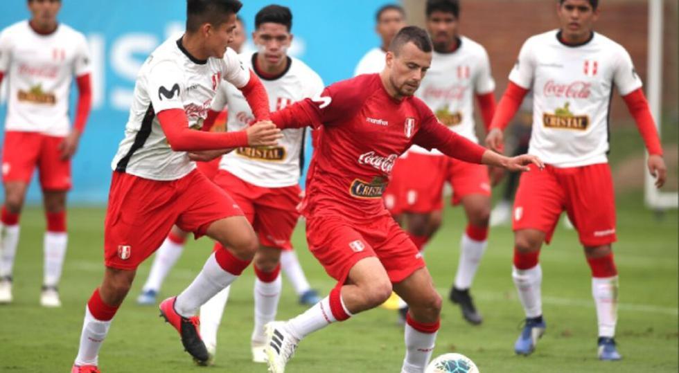 La selección peruana sub-20 disputará en diciembre un cuadrangular internacional en Brasil | Foto: FPF