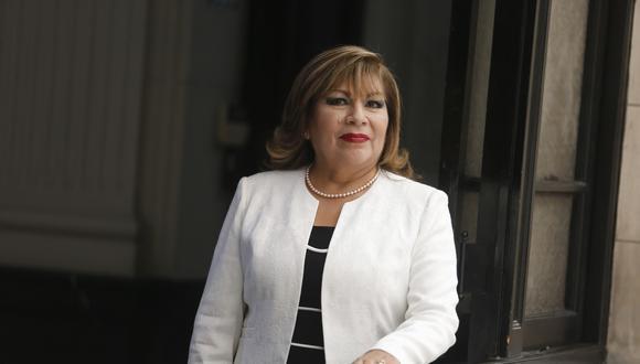 Imagen de la jueza peruana Luz del Carmen Ibáñez, que fue designada como vicepresidenta de la CPI. (Foto: GEC / Archivo).