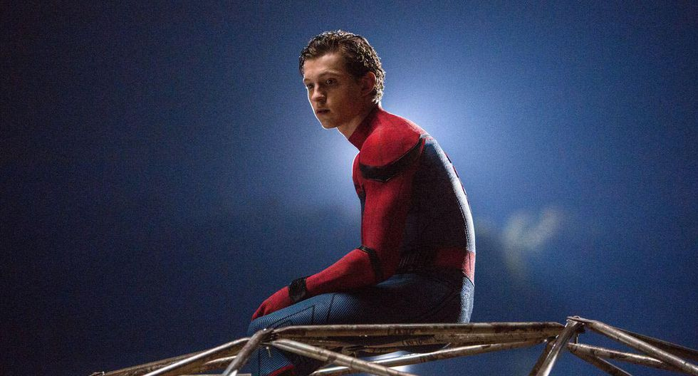 Tom Holland como Spider-Man. (Foto: AP)