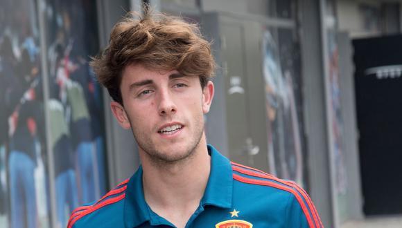 Álvaro Odriozola, de 22 años, fue convocado por la selección española para el Mundial Rusia 2018. (Foto: AFP)