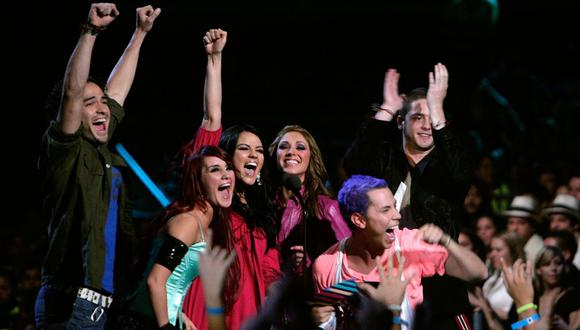 RBD fue una de las agrupaciones más exitosas de pop. (Foto: AFP)