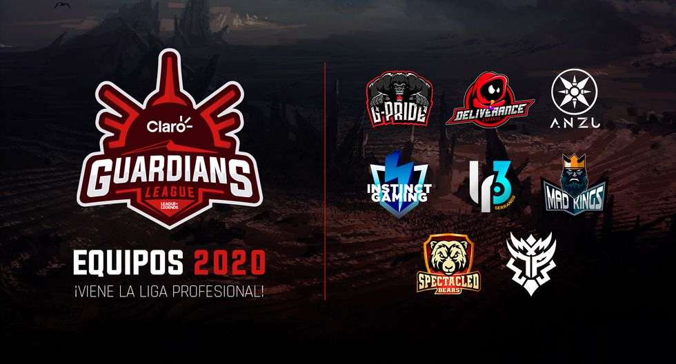 Claro Guardians League 2020. (Imagen: CGL)