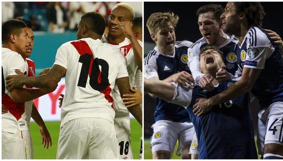 Perú vs. Escocia: posibles alineaciones del cotejo amistoso en el Nacional. (Foto: AFP)