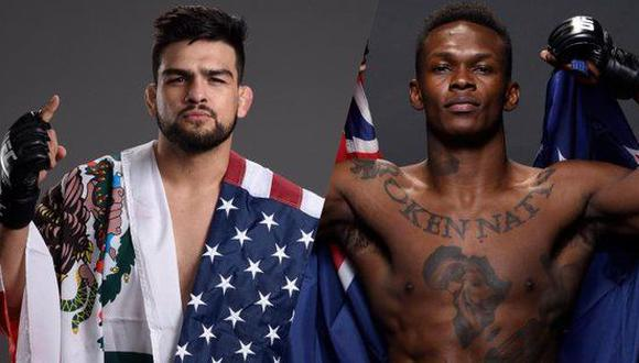 Gastelum vs. Israel Adesanya pelearán este 13 de abril en el UFC 236 por el título mundial peso medio de la UFC. (Foto: UFC).