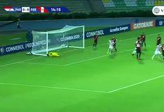 Perú vs. Paraguay: Saúl Salcedo, de cabeza, decretó el 1-0 en Quindío | VIDEO