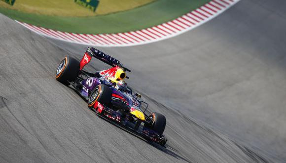 MOTORSPORT - F1 2013 - GRAND PRIX OF THE UNITED STATES - AUSTIN (TX) - 15 TO 17/11/2013 - PHOTO FREDERIC LE FLOCH / DPPI -  VETTEL SEBASTIAN (GER) - RED BULL RENAULT RB9 - ACTION