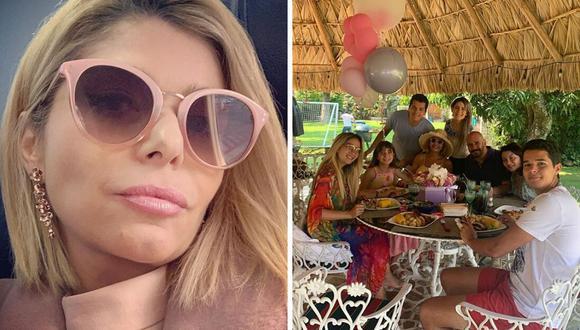 La actriz Itatí Cantoral pasó un emotivo cumpleaños cumpliendo con la cuarentena. (@itatic_oficial).
