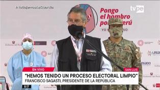 """Elecciones 2021: """"Hemos tenido un proceso electoral limpio"""", destacó el Jefe de Estado"""