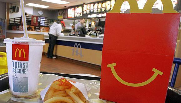 Ganancias de McDonald's cayeron 5% en el primer trimestre