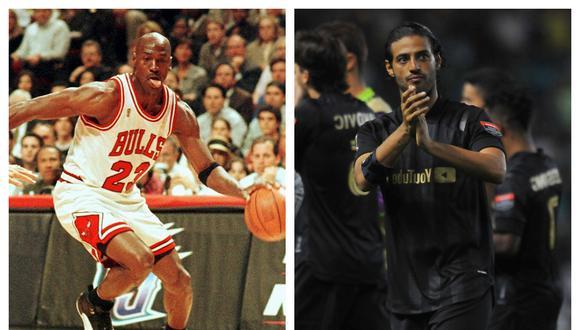 Carlos Vela quiere imitar el liderazgo de Michael Jordan. (Fotos: AFP)
