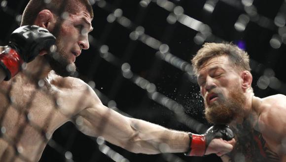 Imágenes de la pelea del fin de semana en Las Vegas. (Fotos: Agencias)