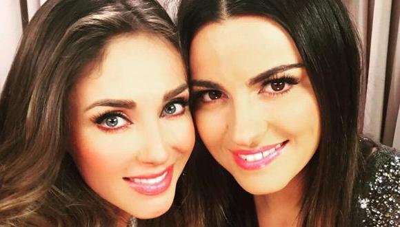 """Maite Perroni y Anahí eran grandes amigas cuando integraron la novela """"Rebelde"""" y el grupo RBD (Foto: Instagram)"""
