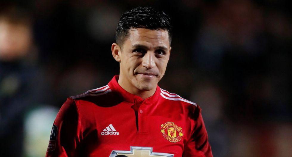 Alexis Sánchez es baja confirmada por Manchester United. (Foto: Reuters)