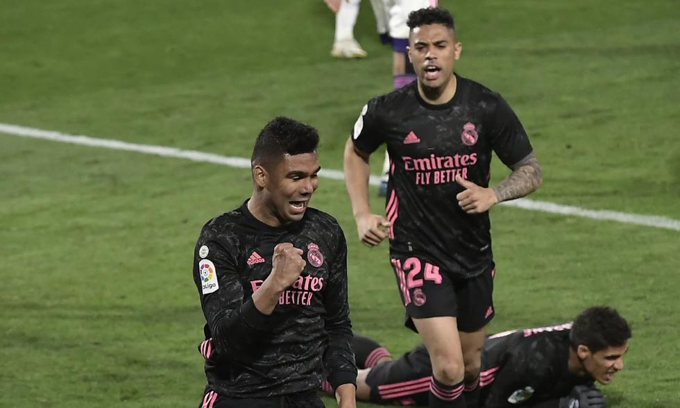 Real Madrid vs. Valladolid: las imágenes del partido en el Estadio Municipal José Zorrilla | Foto: AP