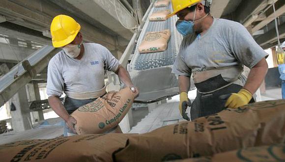 Consumo de cemento cerraría el año con una expansión de 3%