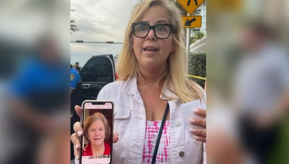 La madre de Magaly Ramsey es una de las desaparecidas. (BBC Mundo).