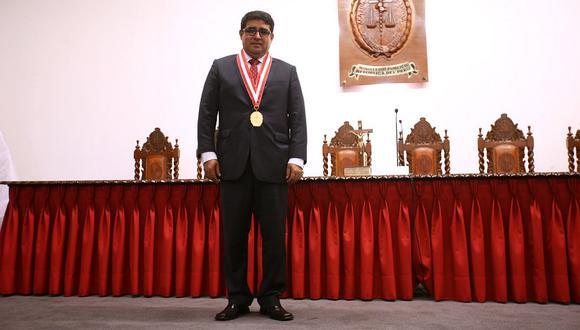 El fiscal supremo Víctor Raúl Rodríguez Monteza, en una imagen de archivo.