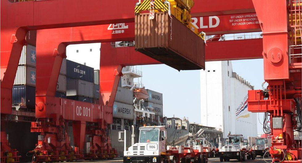 Las exportaciones crecieron por primera vez en el año. (Foto: GEC)
