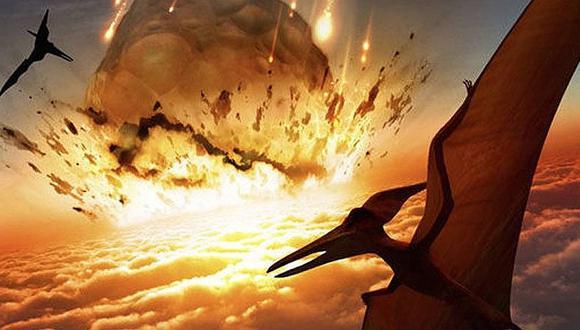 Dinosaurios luchaban por sobrevivir mucho antes de la caída del meteorito