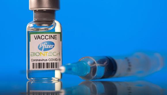Durante marzo solo han arribado al Perú las vacunas de Pzifer. (Foto: REUTERS/Dado Ruvic).