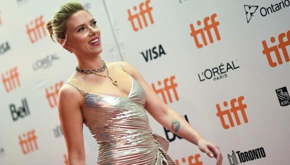 Scarlett Johansson obtuvo doble dominación  (Foto: AFP)