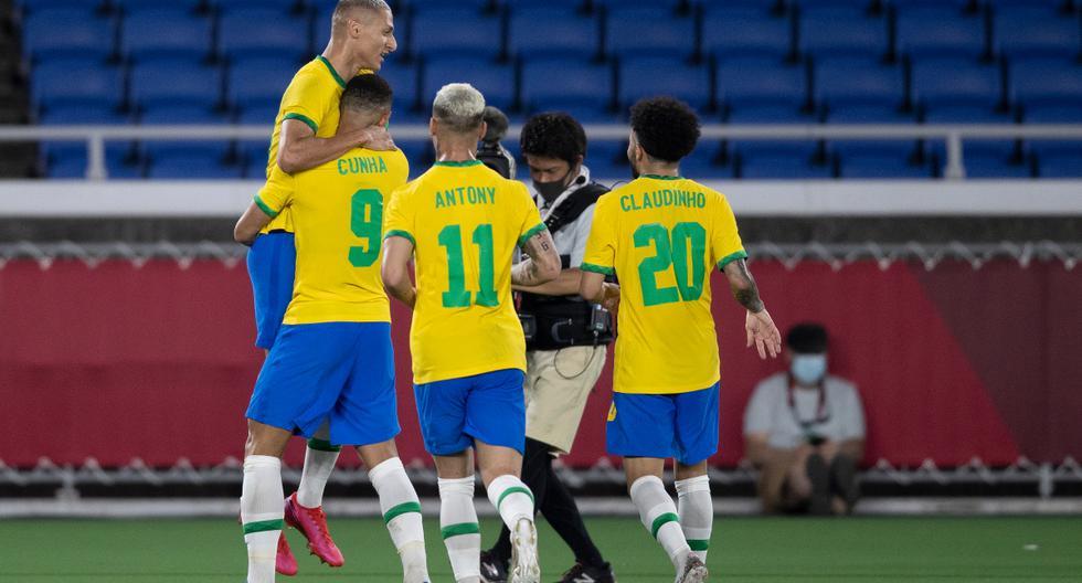 Resultado Brasil vs. Alemania Tokio 2020 fútbol masculino: goles de Richarlison, resultado y resumen del partido por Juegos Olímpicos | Fútbol masculino | NCZD DTBN | | DEPORTE-TOTAL | EL COMERCIO PERÚ