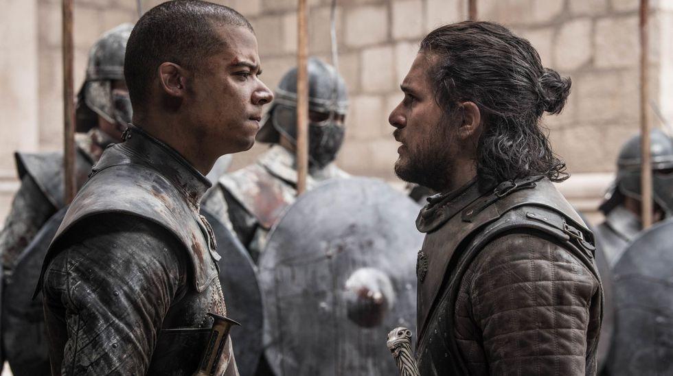 """Escena del último capítulo de la serie """"Game of Thrones"""". (Foto: HBO)"""