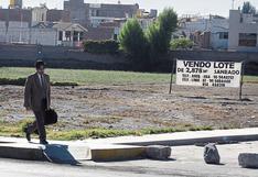 Municipalidades aplicarían impuesto predial a propietarios de terrenos que no tengan actividad urbanística
