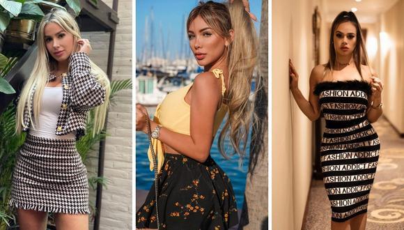 """""""Las chicas Tulum"""" o """"Las Embajadoras"""" son un grupo de modelos que han viajado a la ribera mexicana. (Foto: composición Instagram)"""
