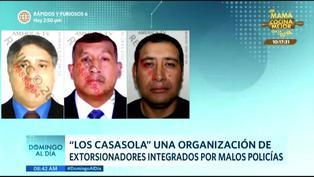 Desarticulan organización de extorsionadores integrados por malos policías