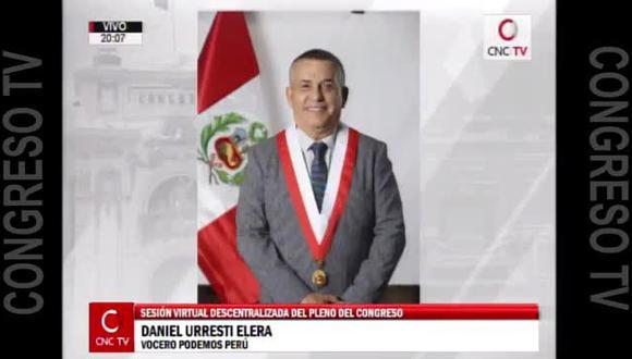 Podemos Perú cambió de postura sobre reforma de impedimentos
