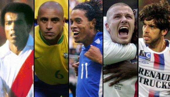 Cinco tiros libres memorables en la historia del fútbol