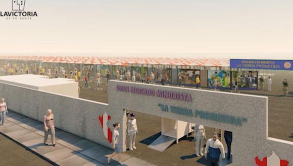 El terreno de la Tierra Prometida está ubicado en Santa Anita. (Municipalidad de La Victoria)