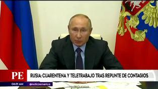 Rusia: cierran escuelas por rebrote de COVID-19