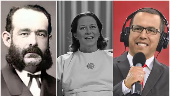 Miguel Grau, Chabuca Granda y Daniel Peredo, las tres figuras de la campaña #PerúTeQuieroVivo, que busca concientizar a la población durante la crisis del coronavirus. (Foto: #PerúTeQuiero)