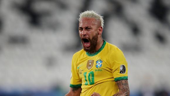 Neymar es figura de Brasil en la Copa América 2021.