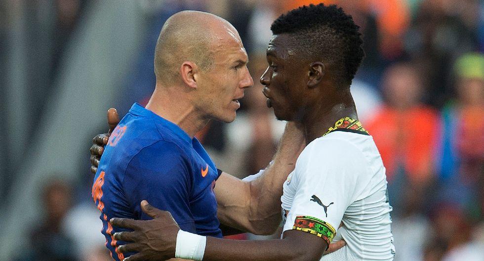 El enojo de Robben y las mejores postales del Holanda-Ghana - 2