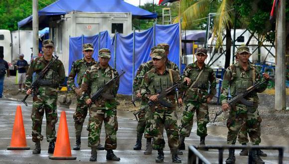 Testigos aseguran que personas con el uniforme del ejército de Nicaragua cruzaron la frontera con Costa Rica. (Foto: AFP).