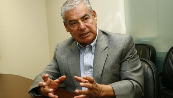 """""""A mí me fue muy difícil cambiar [de opinión], yo hablé con el presidente Vizcarra sobre esto cuando me invitó, yo le dije 'no puedo porque yo he dicho esto, que no voy a participar'"""", dijo César Villanueva. (Foto: El Comercio)"""
