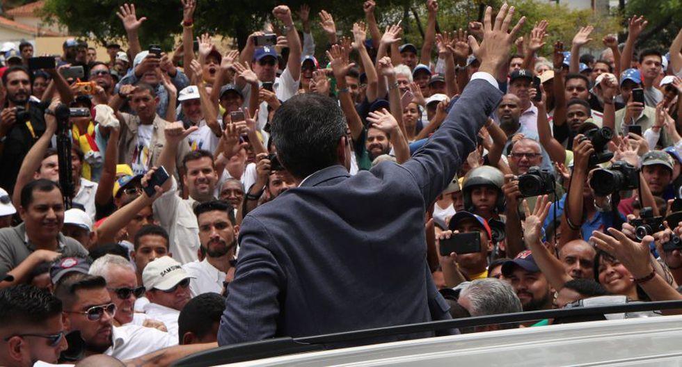 Esto ocurridotras el fallido intento de rebelión militar. (Foto: AFP)